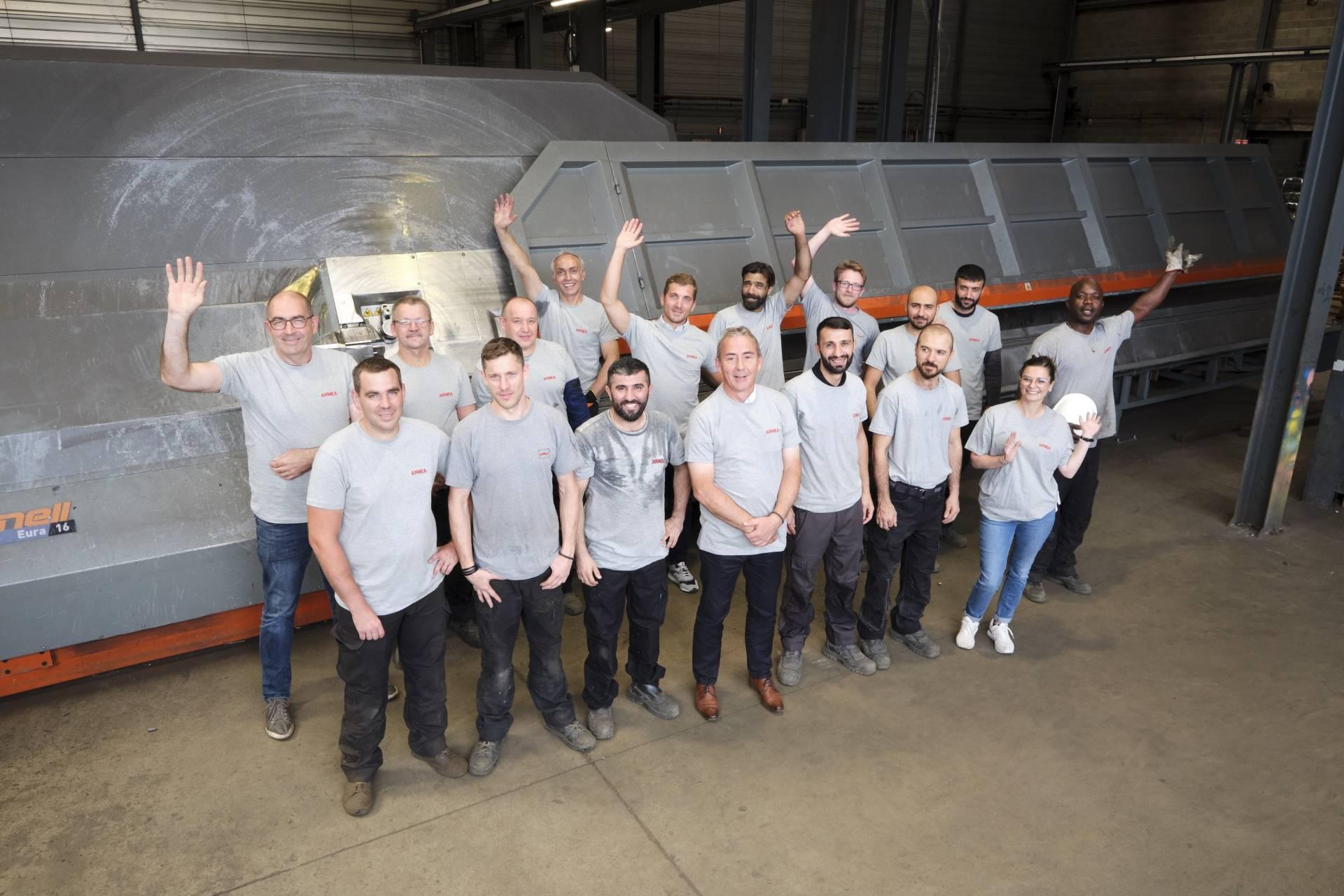 Second groupe de salariés - Armea 28
