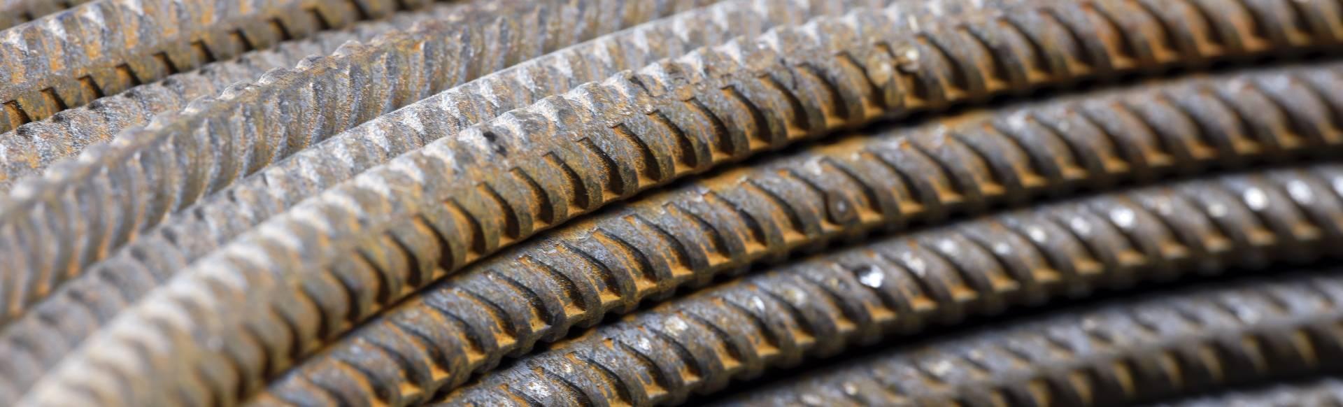 Rouleau de barre d'acier